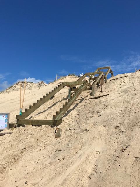 Escalier Plage